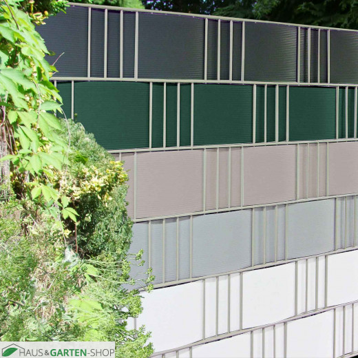 Hart PVC Gittermatten Sichtschutzstreifen in 5 verschiedenen Farben