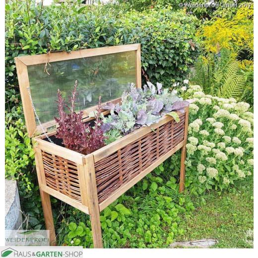 Balkon Hochbeet auch im Garten