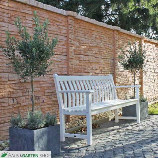 abdeckung f r betonwand mediterran nostalgie. Black Bedroom Furniture Sets. Home Design Ideas