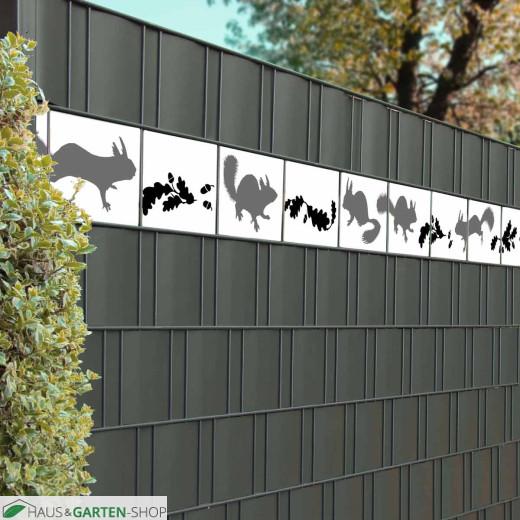 dekorative Tierillustration für die Zaunanlage