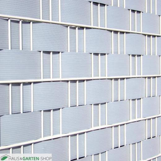 Hart - PVC Sichtschutzstreifen lichtgrau 9,5cm - beste Qualität