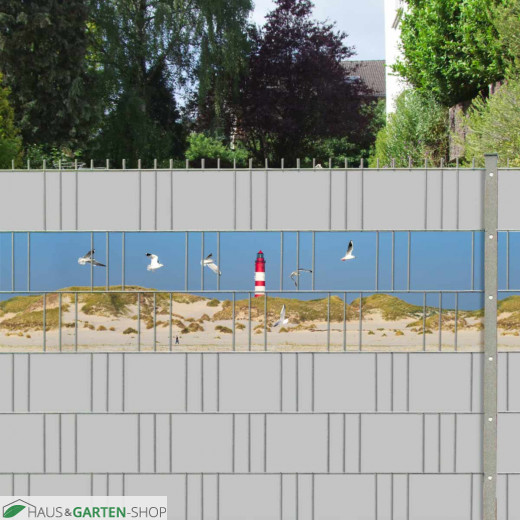 Sichtschutzmotiv Küstenlandschaft für Küstenliebhaber