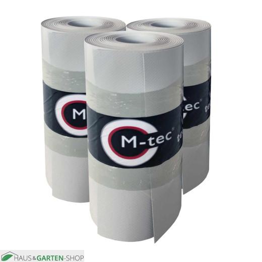 M-tec Profi-line® Lichtgrau vorkonfektioniertes Komfort Pack mit Klemmschienen