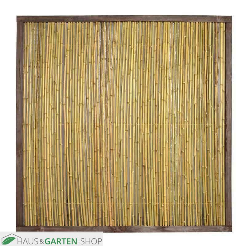 Stabile Blickdichte Bambusmatten Fur Balkon Und Garten