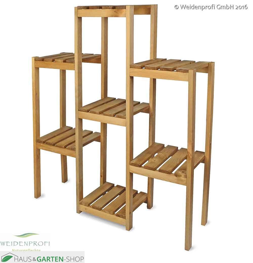pflanzregal aus kiefernholz. Black Bedroom Furniture Sets. Home Design Ideas