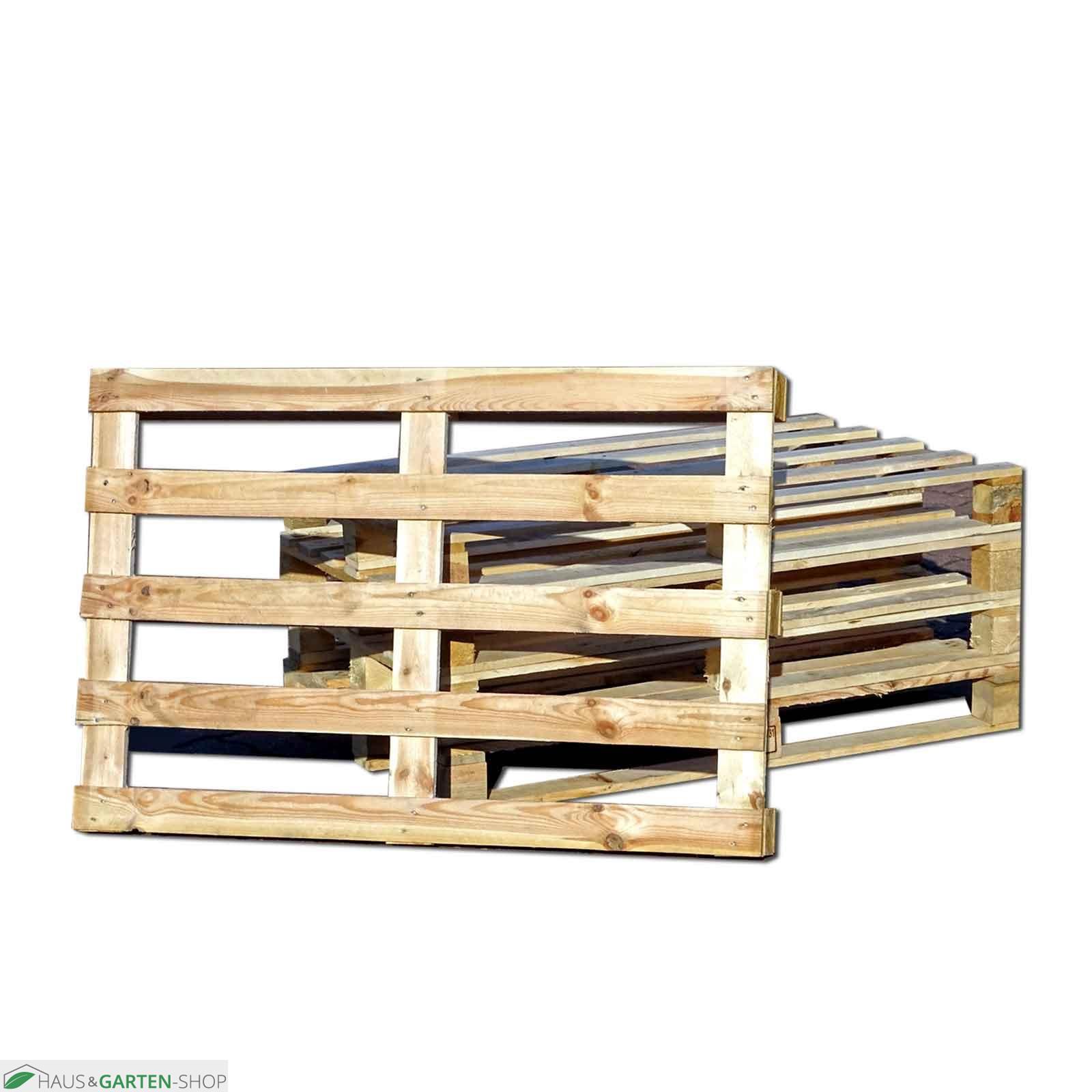 Garten- und Terrassendesign mit Gartenmöbeln aus Einwegpaletten