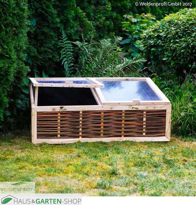 fr hbeet mit deckel aus stegdoppelplatten. Black Bedroom Furniture Sets. Home Design Ideas