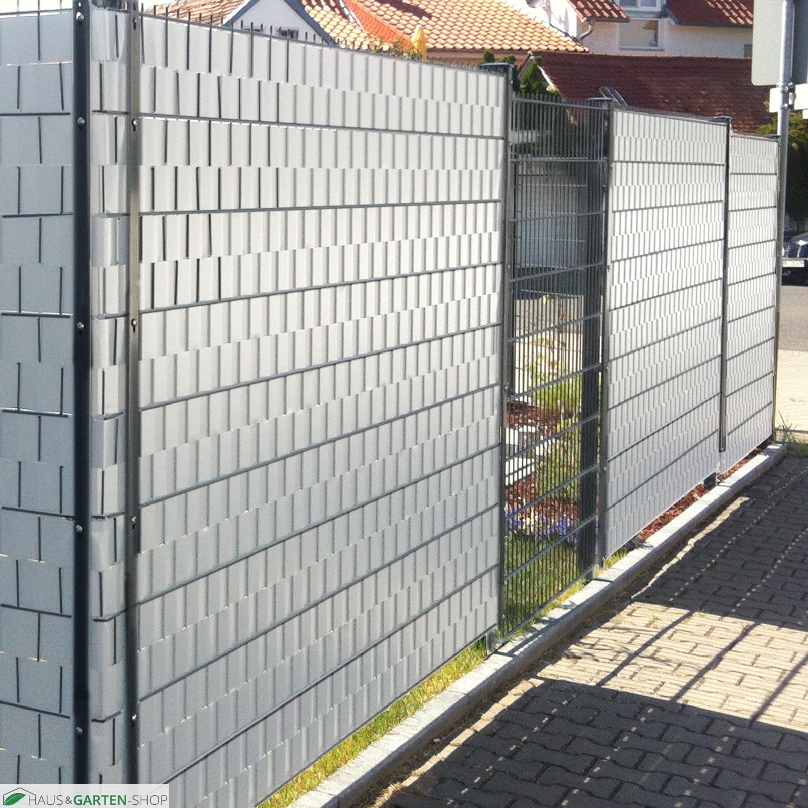 Beste Von Sichtschutzstreifen Zaun