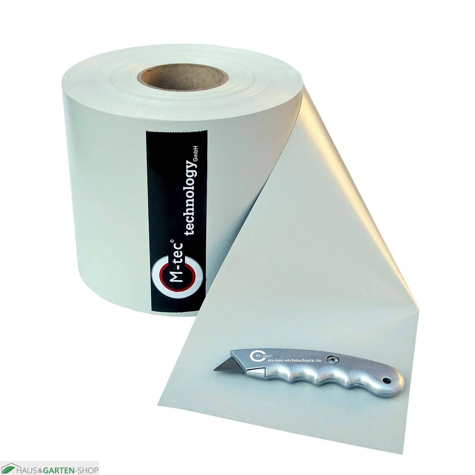 hochwertiges m tec cuttermesser f r die sichtschutzstreifen. Black Bedroom Furniture Sets. Home Design Ideas
