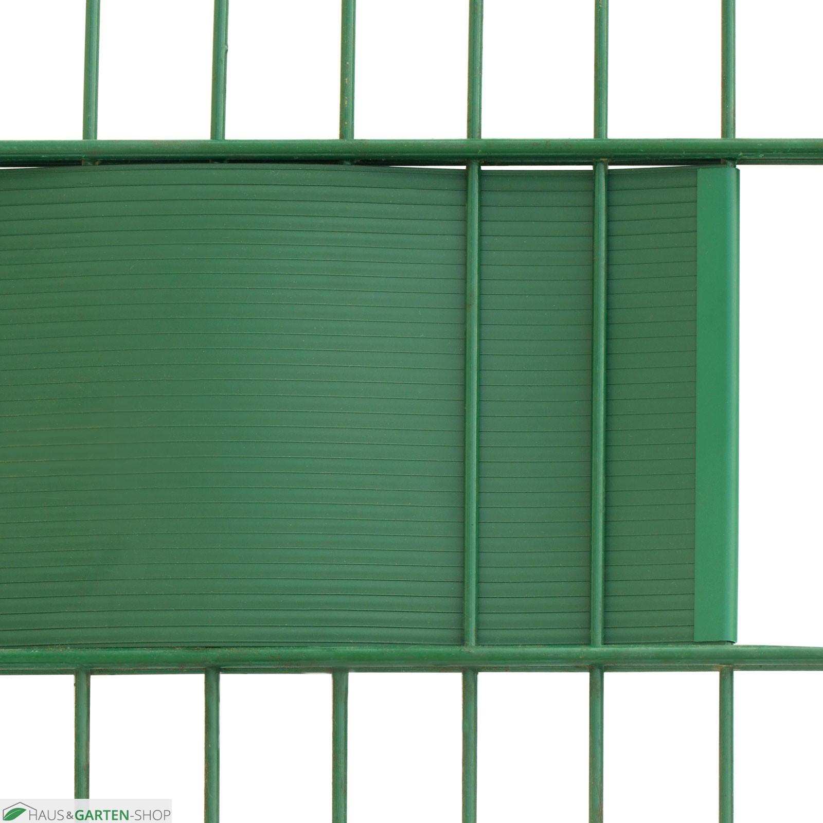 Sichtschutzstreifen Hart PVC für Gittermatttenzäune