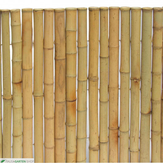 exclusive sichtschutzmatte aus bambus naturfarbend optik. Black Bedroom Furniture Sets. Home Design Ideas