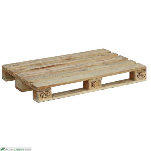 Europalette - gehobeltes Holz 120x80x14,4 cm