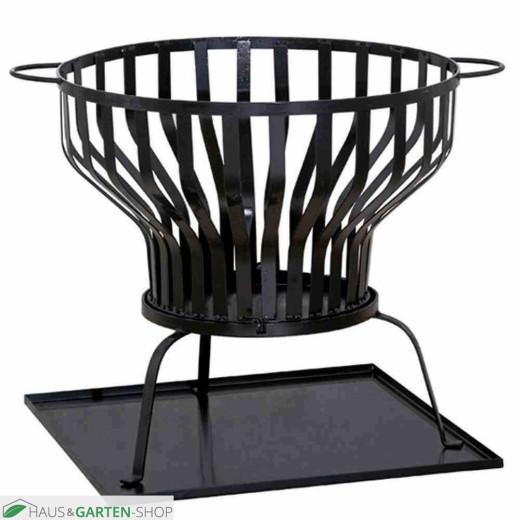 SIENA GARDEN Feuerkorb Tulpa | Stahl schwarz