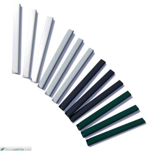 PVC - Sichtschutzstreifen Klemmschienen