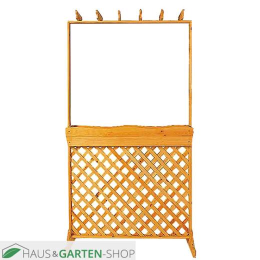 Sichtschutzspalierkasten - Rustica aus Kiefernholz 110 x 40 x 205 cm