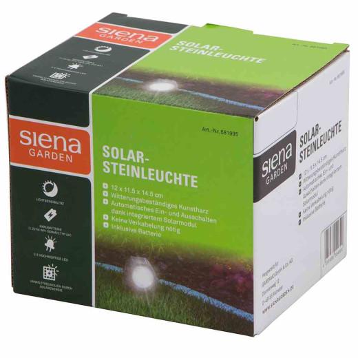 SIENA GARDEN Solar-Steinleuchte
