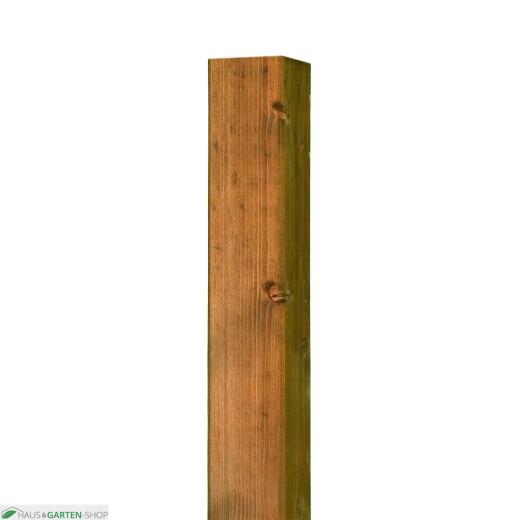 Zaunpfosten Braun für Weide und Haselnuss Zäune