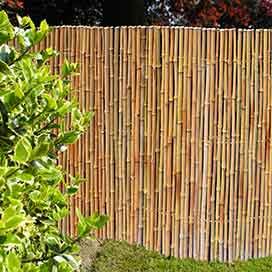 bambusmatten sichtschutz haltbarer natursichtschutz. Black Bedroom Furniture Sets. Home Design Ideas