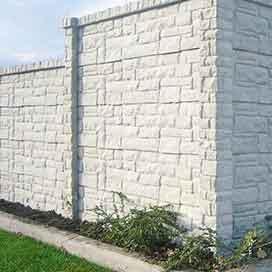 Beton Sichtschutzzaun in verschiedenen schönen Designs