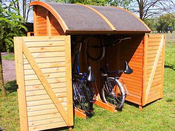 fahrradunterstand bikeport. Black Bedroom Furniture Sets. Home Design Ideas