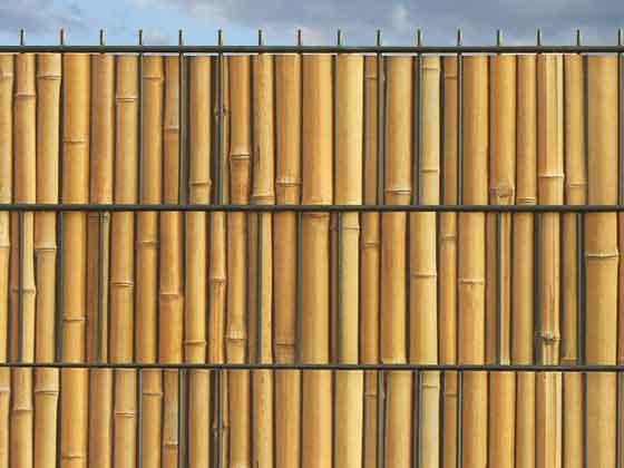 m tec print sichtschutz in bambuszaun optik. Black Bedroom Furniture Sets. Home Design Ideas