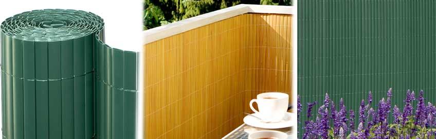 Balkon- Sichtschutz Kunststoff