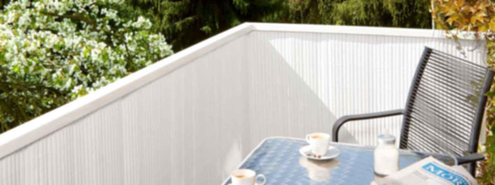 Pvc Balkon Sichtschutz Befestigen CARPROLA for