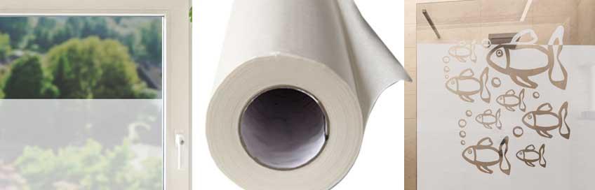 deko schutz mit glasdekorfolie gut lichtdurchl ssig. Black Bedroom Furniture Sets. Home Design Ideas
