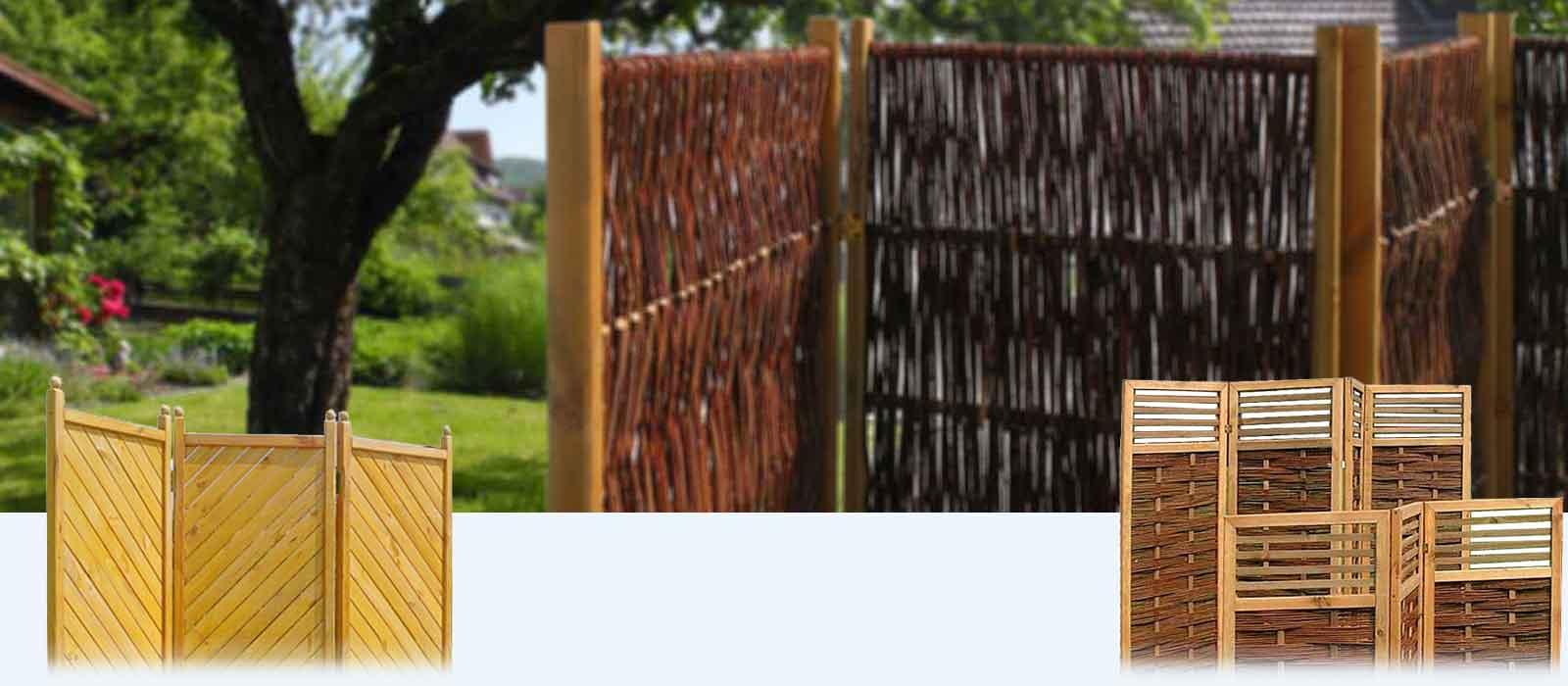 Sichtschutz Aus Weide Oder Bambus Kreative Ideen über Home Design