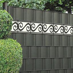 Zaun Design Streifen