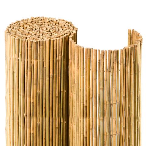 stabile blickdichte bambusmatten f r balkon und garten. Black Bedroom Furniture Sets. Home Design Ideas