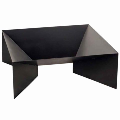 Feuerschale Pan2 - schwarz lackiert