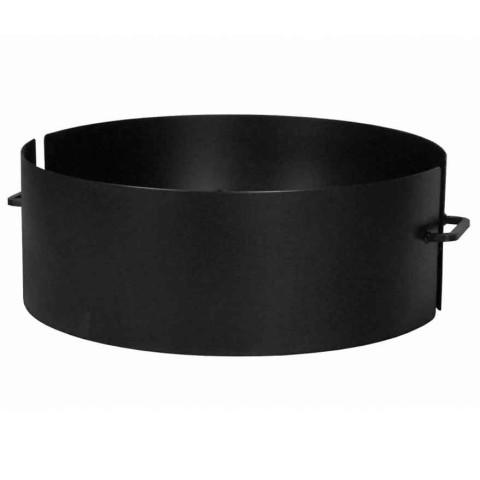Feuerschale Pan4 schwarz lackiert