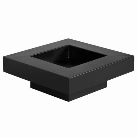 Feuerschale Pan5 - schwarz lackiert