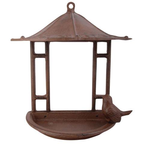 Vogelfutterhaus Gusseisen