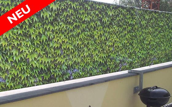 Balkonbanner - Bedruckter Sichtschutz für Balkon, Terrasse und Garten