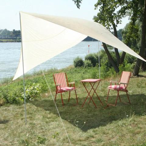 Camping Viereck Sonnensegel