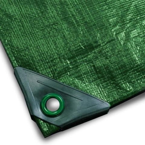 Abdeckplane 200g/m² grün