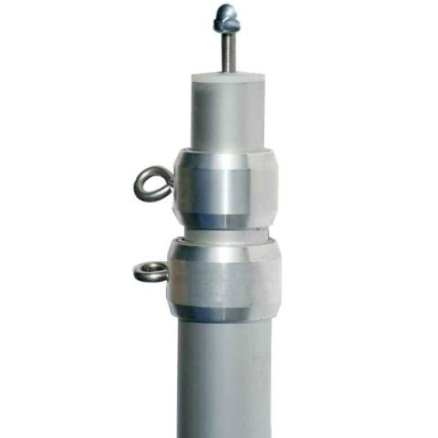 Aluminium Teleskopmast - 3-teilig - max. Länge 280 cm