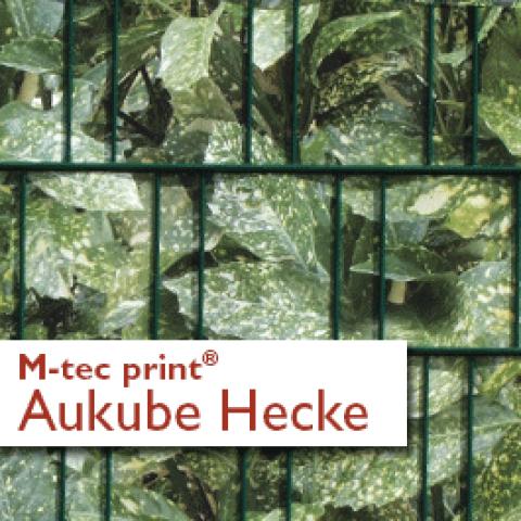 M-tec print®  Aukube Hecke