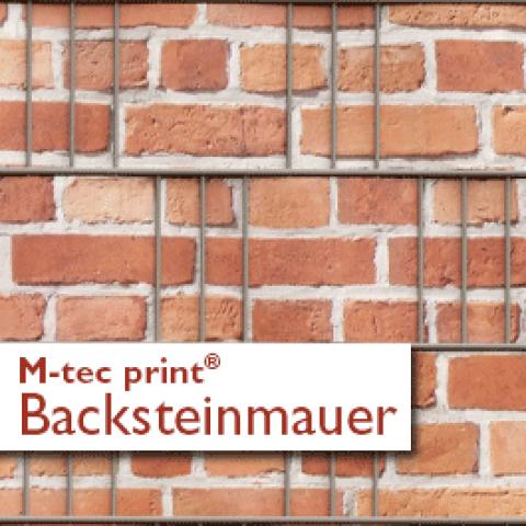 M-tec print®  Backstein Mauer