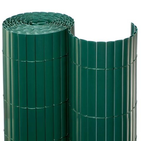 Balkonsichtschutzmatte Rolle Grün