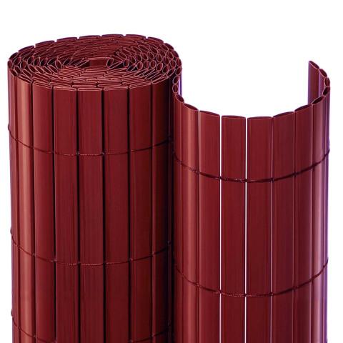 PVC Balkonsichtschutzmatte Rolle Rot