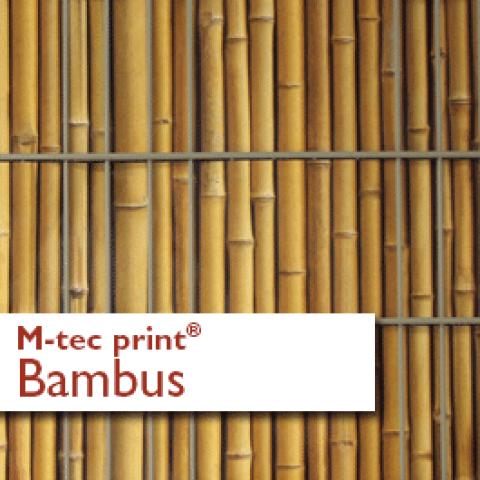 Zaunstreifen M-tec Print Motiv Bambus