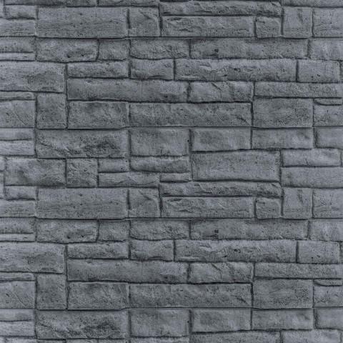 Betonzaun Mediterran Motiv Rockstone
