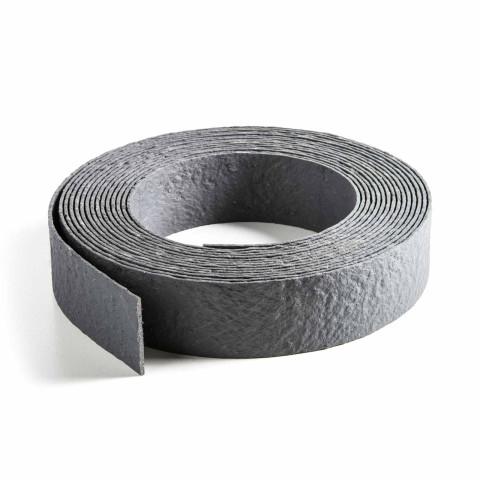 Beetbegrenzung grau als Rolle