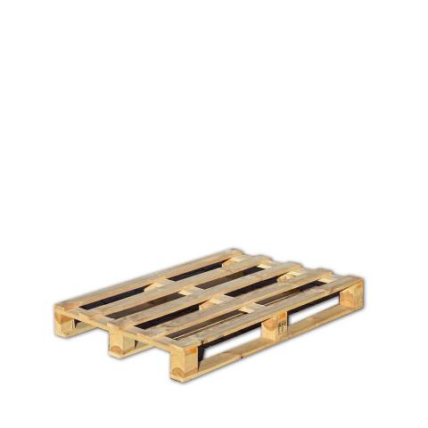 Einwegpalette aus solidem Holz