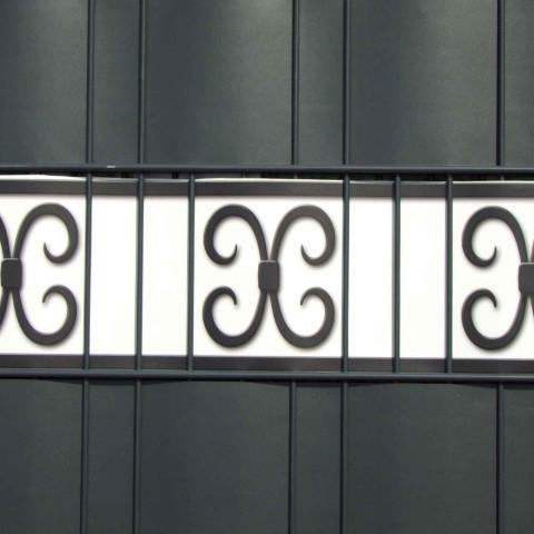 PVC Design Zaunstreifen - Motiv Merano | Streifen