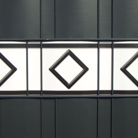 PVC Design Streifen Motiv Hamburg