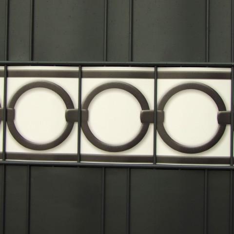 PVC Design Streifen Motiv  Berlin